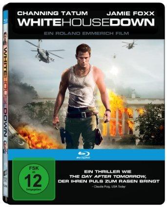 White House Down Steelbook Edition Bluray für 9,97€ @Amazon.de Blitzangebote