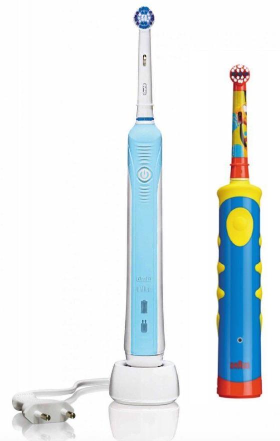 Oral-B Family Pack Professional Care 500 + Oral-B Mickey DB10K Kinderzahnbürste für 34,99€ ohne VSK bei [ebay] statt ca. 44€