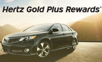 Hertz Gold Plus Rewards:  900 Hertz Gold Plus Rewards-Punkte kostenlos erhalten und z.B. Auto für einen Tag kostenlos oder für ein paar Euro mieten