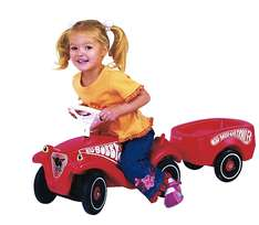 BIG Bobby Car Classic mit Flüsterrädern + Anhänger für 39,98€ bei Abholung @ [ToysRUs] statt ca. 52€