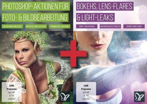 Photoshop Aktionen-Paket - 2 für 1 Aktion