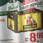 (Grenzgänger NL Coop) Grolsch oder Hertog Jan Bier 16x 450ml oder 24x 300ml