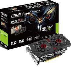 (MF) Asus GeForce GTX 960 STRIX OC Edition + DOOM PC GRATIS !