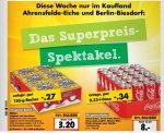 [Kaufland Ahrensfelde-Eiche und Berlin-Biesdorf] Coca-Cola, Zero Light, Mezzo Mix Fanta und Sprite 24x0,33l 8€ Stückpreis 0,33€