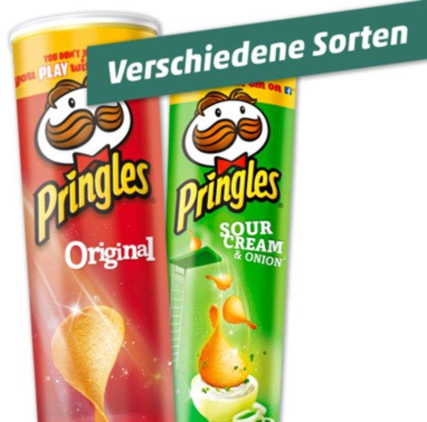 [Penny] PRINGLES, verschiedene Sorten für günstige 1,29 €