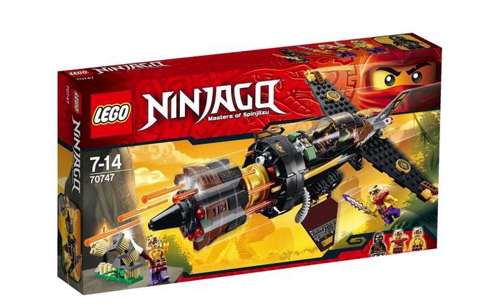 Lego Ninjago 70747 Coles Felsenbrecher für 23,79€ ohne VSK bei [Thalia] statt ca. 28€