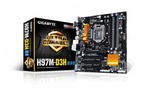Gigabyte GA-H97M-D3H [MoBo] [NBB] [Sockel 1150] für 66,98€ (inkl. VSK)