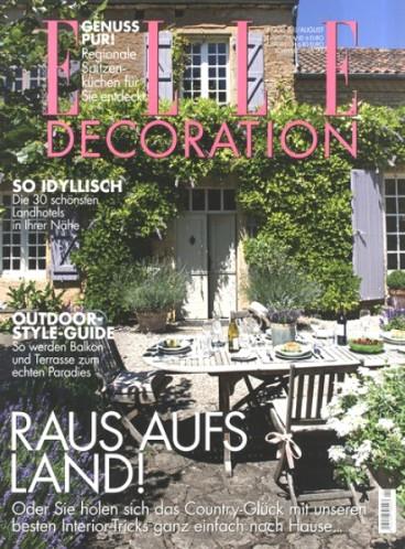 ELLE Decoration Magazin - Jahresabo für eff. 1,00€ durch 35€ Verrechnungsscheck