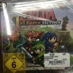 The Legend of Zelda: Tri Force Heroes (3DS) [Lokal MM Köln Arcaden]