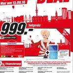 "Media Markt Hamburg Lokal / Samsung UE55 KU 6099 Ultra HD LED TV 55"" + gratis Samsung Galaxy Tab E !"