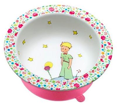 Der kleine Prinz Schale mit Saugboden in rosa für 7,86€ bei [Amazon Prime] statt ca. 17€