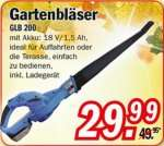 [ZIMMERMANN] Güde GLB 200 Akku-Garten-/ Laubbläser für 29,99€
