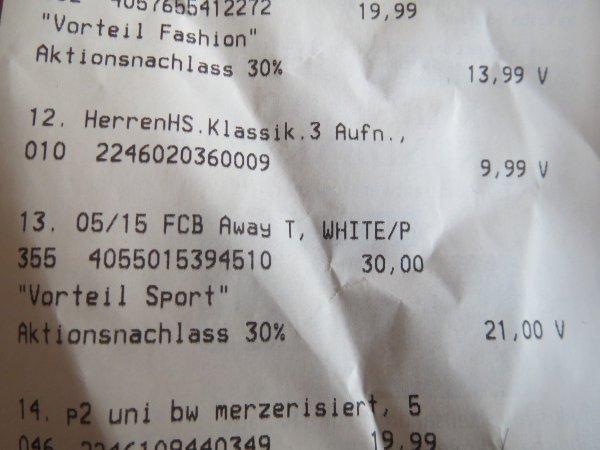 [Karstadt MM] FCB away Trikot 2015 für Erwachsene