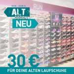 Lokal / alt gegen neu , 30€ Rabatt wenn du deine alten Schuhe abgibst !