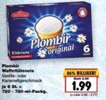 [Kaufland bundesweit] Plombir Original Eiskrem für 1,99€ Vanille oder Karamell