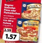 [Famila] Wagner Steinofen  Pizza oder Flammkuchen 1,57€