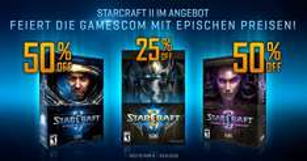 STARCRAFT II im GAMESCOM-ANGEBOT