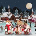 Heute schon an Weihnachten denken! 3x 20cm große Dekofiguren versandkostenfrei