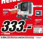 [Mediamarkt] GOPRO Hero4 Silver Adventure Edition - Deutschland Actioncam Ultra HD , WLAN + Samsung mi­croS­DXC Spei­cher­kar­te EVO Plus 128 GB mit SD Ad­ap­ter für 333,-€ *Update..Online nun mit 2x 64GB Karte!
