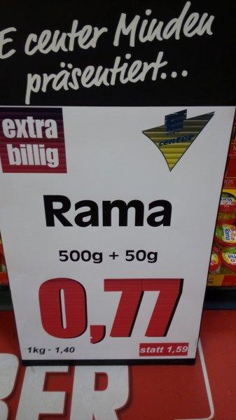 [EDEKA] Minden/Hannover Rama die 500g + 10% für 0,77€