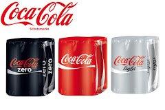 [Penny] Coca Cola / Coca Cola Zero 4x0,33l Dosen für 0,95€ (Angebot + Scondoo)
