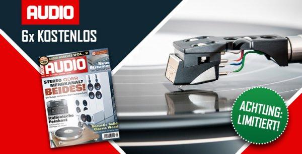 Magclub: AUDIO Magazin 6 Ausgaben gratis