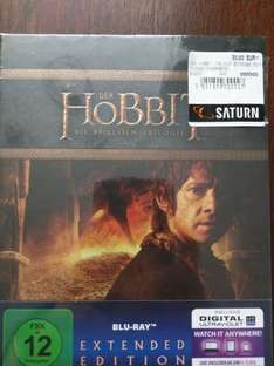 [Lokal] Hobbit Trilogie Extended Edition Blu Ray @ Saturn Dortmund für 30€