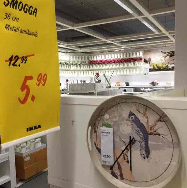[Ikea Dresden] Uhr Smogga 6€