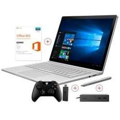 (Cyberport) Microsoft Surface Book Core i5 256 GB 8 GB RAM 940M Win 10 Pro mit Dock, Office, Stift, Controller