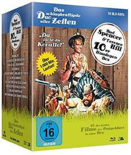 [Mediadealer]  Bud Spencer & Terence Hill - Haudegen-Box (10 Blu-ray Filme)