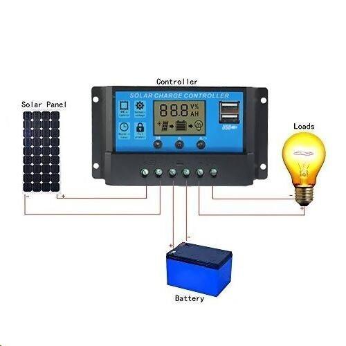 Solar Panel Regler bei Amazon