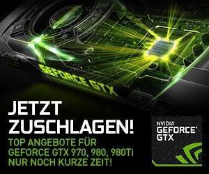 Nvidia GTX9 Sale, GTX 970 - ab 229€, GTX 980 - ab 299€, GTX 980 Ti - ab 399€ - Mindfactory