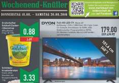 "[Marktkauf] 40"" DYON Movie LED TV (eff. 41,5"") FHD, 105,4 cm, Triple Tuner + DVB-T2 , CI+, 3x HDMI, 1x VGA, 1 x Scart, 1 x Mini AV, 1x USB, EEK A"