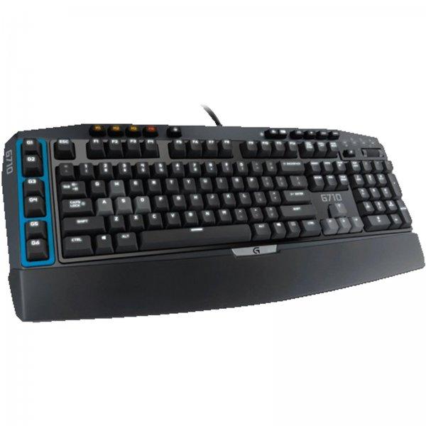 Logitech G710 mechanische Tastatur mit MX Blue Switches für 55€ inkl. Versand [Mediamarkt ebay]