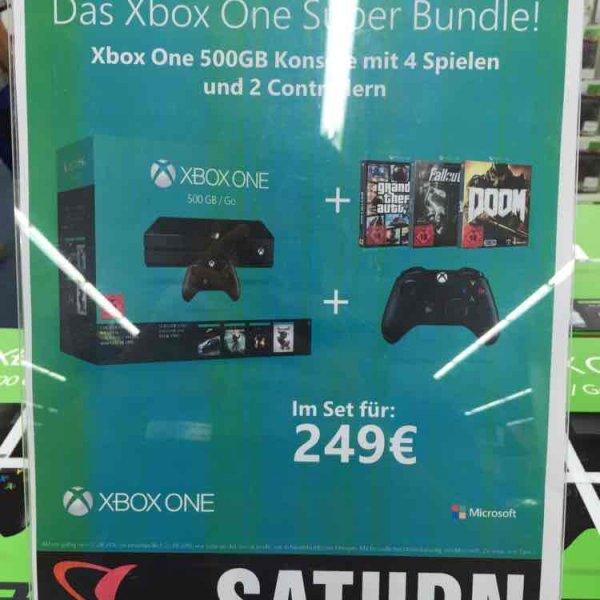 [Lokal Saturn Stuttgart] Xbox One Super Bundle