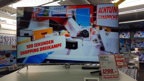 [Lokal Bielefeld Media Markt] Samsung SUHD TV UE55KS7090 1299,- understand weitere Modelle
