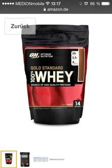 Amazon-pantry bietet ON Whey 450g für 4,90€