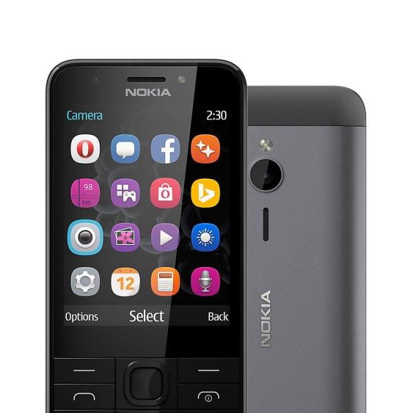 Nokia 230 schwarz 44€ [Telekom Onlineshop] 22,48% günstiger