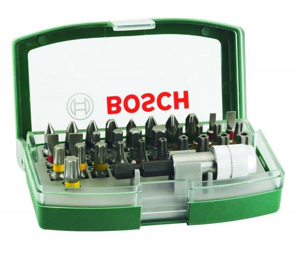 Bosch DIY 32tlg. Schrauberbit-Set mit Farbcodierung und Universalhalter [Amazon Prime]