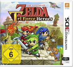 Nintendo 2DS/3DS - The Legend of Zelda: TriForce Heroes ab €14,69 [@Redcoon.de]