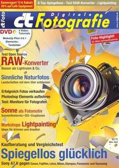 ct Digitale Fotografie Magazin + 15€ Amazon Guthaben für 12,90€