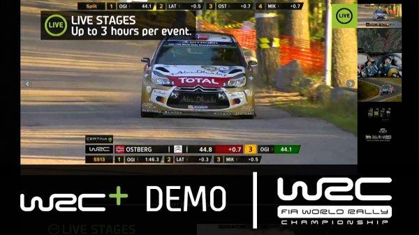 Für Motorsportfans/Rallyfans: WRC+ 30 Tage gratis, Live-Streams, Magazine und On-Demand von der ADAC Rally Deutschland 19.-21.08.2016