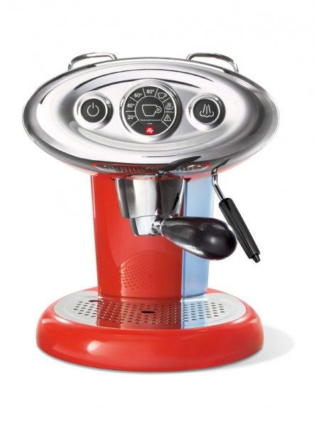 [Baresta com] Francis X7.1 Espressomaschine Rot