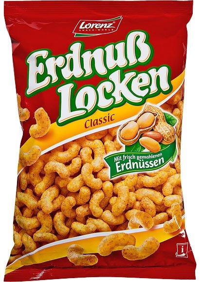 (Kaufland) Erdnuß Locken classic von Lorenz je 250gr. Beutel 0,88€ !