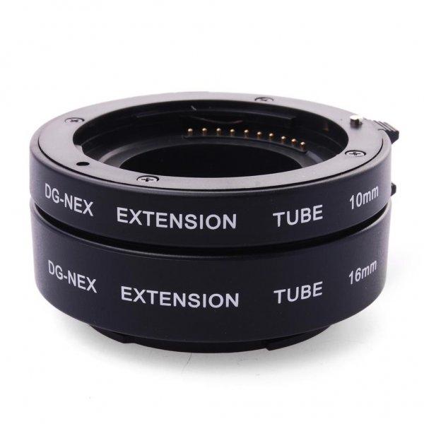 Sony E-Mount (NEX, A6000, A7 etc.) Autofokus Macro-Adapter / Extension Tube - Vollformat-tauglich - Versand aus Deutschland!