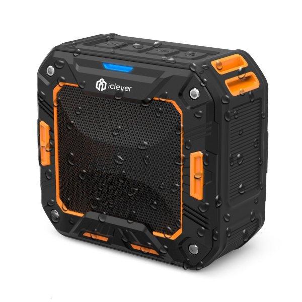 Statt 26,99 nur 6,99 Wasserdichter BT Lautsprecher iClever IC-BTS03 (Prime)