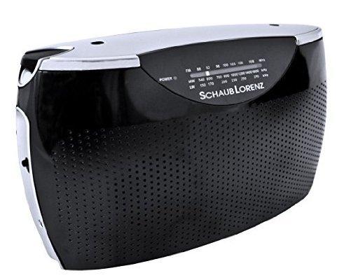 [Amazon.de] Schaub Lorenz RT242 Tragbares Radio (UKW/MW/LW-Tuner, AUX-In, Kopfhörer-Anschluss); 9,99€ mit Prime; Idealo ab 16,86€