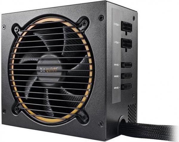 be quiet! Pure Power 9 CM 500W  Netzteil (80 Plus Silber, teilmodular, PFC aktiv) für 59,90€ [Cyberport]