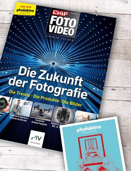 photokina Messeticket + Heft Zukunft der Fotografie