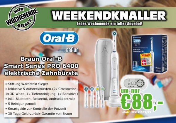 Braun Oral-B SmartSeries PRO 6400 elektrische Zahnbürste - 43€ unter Idealopreis